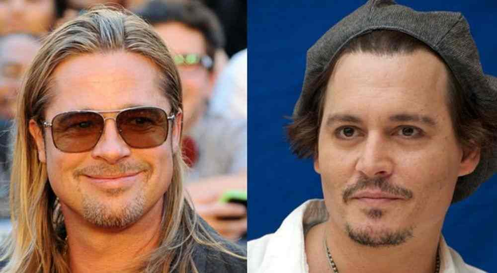 Brad Pitt and Johnny Depp are in the same boat
