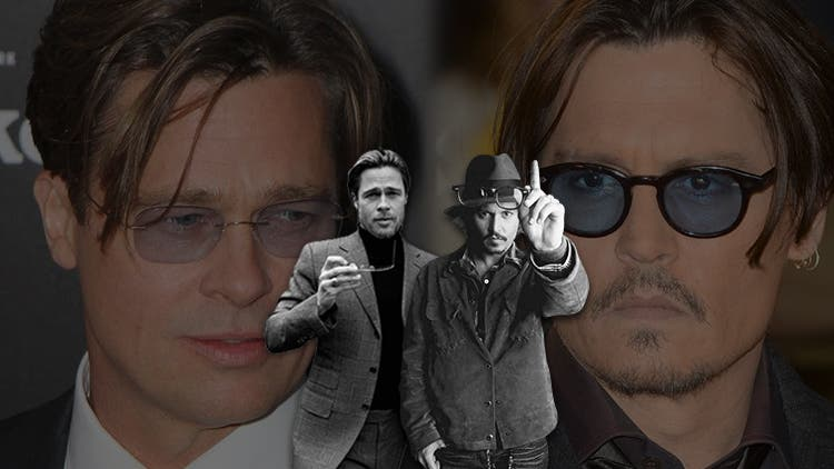 It's Time For Brad Pitt and Johnny Depp To Have Whisky Together