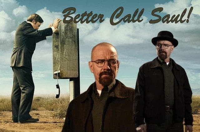 Walter White and Saul Goodman Get an Early Start On!
