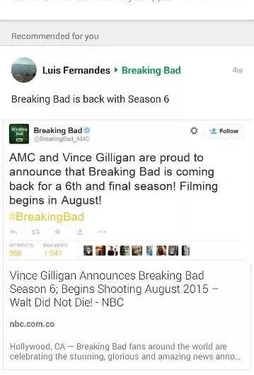 Twitter Fake Breaking Bad Season 6 DKODING