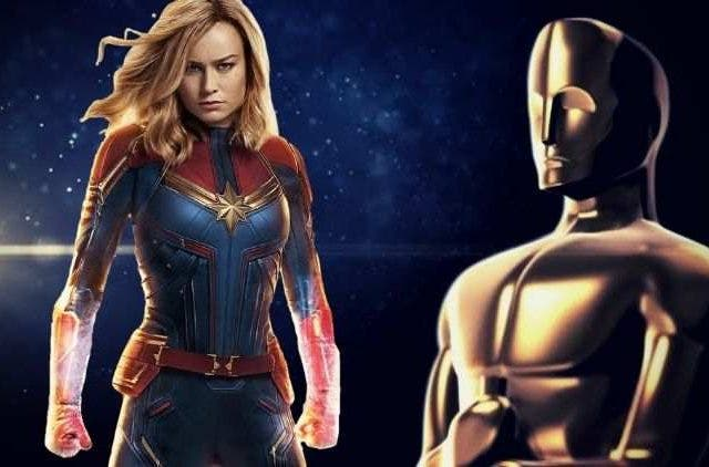 Brie Larson And Captain Marvel Oscar DKODING