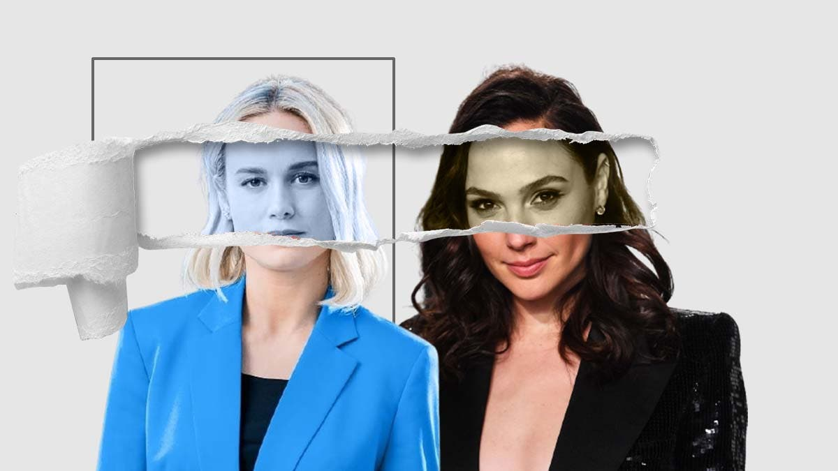 Who among Brie Larson and Gal Gadot is more the jealous kind?