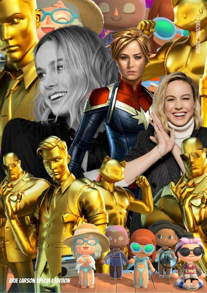 Brie Larson loves to play games on her Nintendo Switch