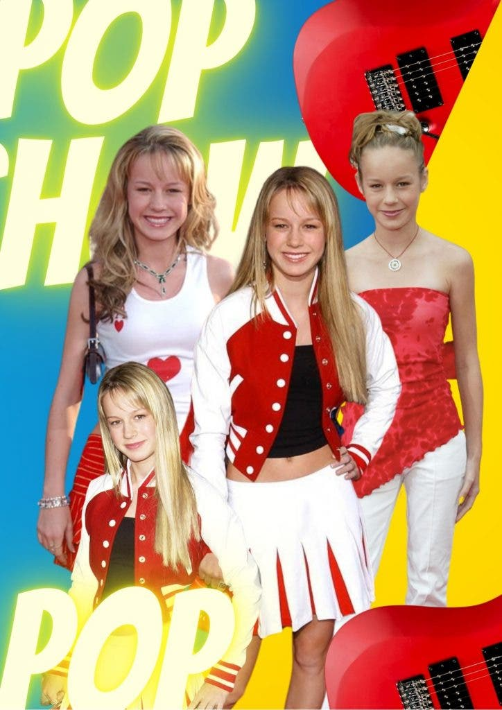 Brie Larson's old days as a Pop Star