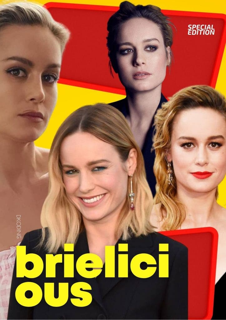 Brie Larson is also a writer, producer and director