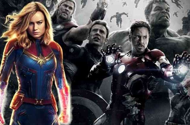 Brie Larson Captain Marvel Age Of Ultron DKODING