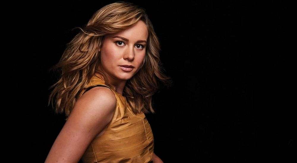Brie Larson shared a throwback picture of her camera test