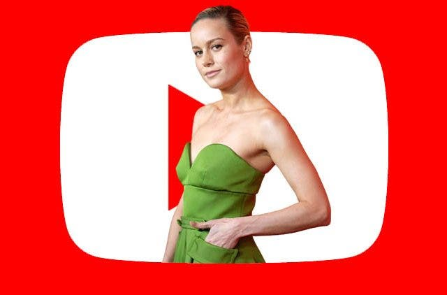 Brie Larson's Youtube channel is just temporary