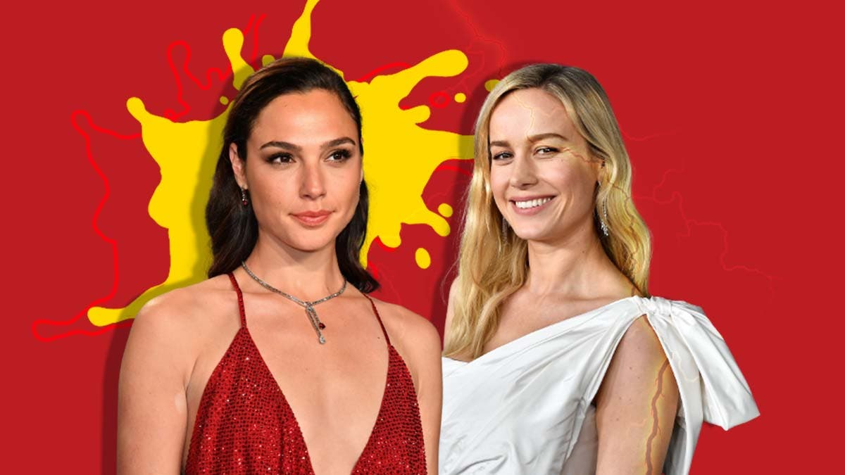 Brie Larson is actually allergic to Gal Gadot for this strange reason