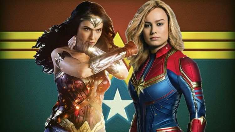 Marvel Vs DC – Brie Larson And Gal Gadot Heading Towards The Crossover Of The Century