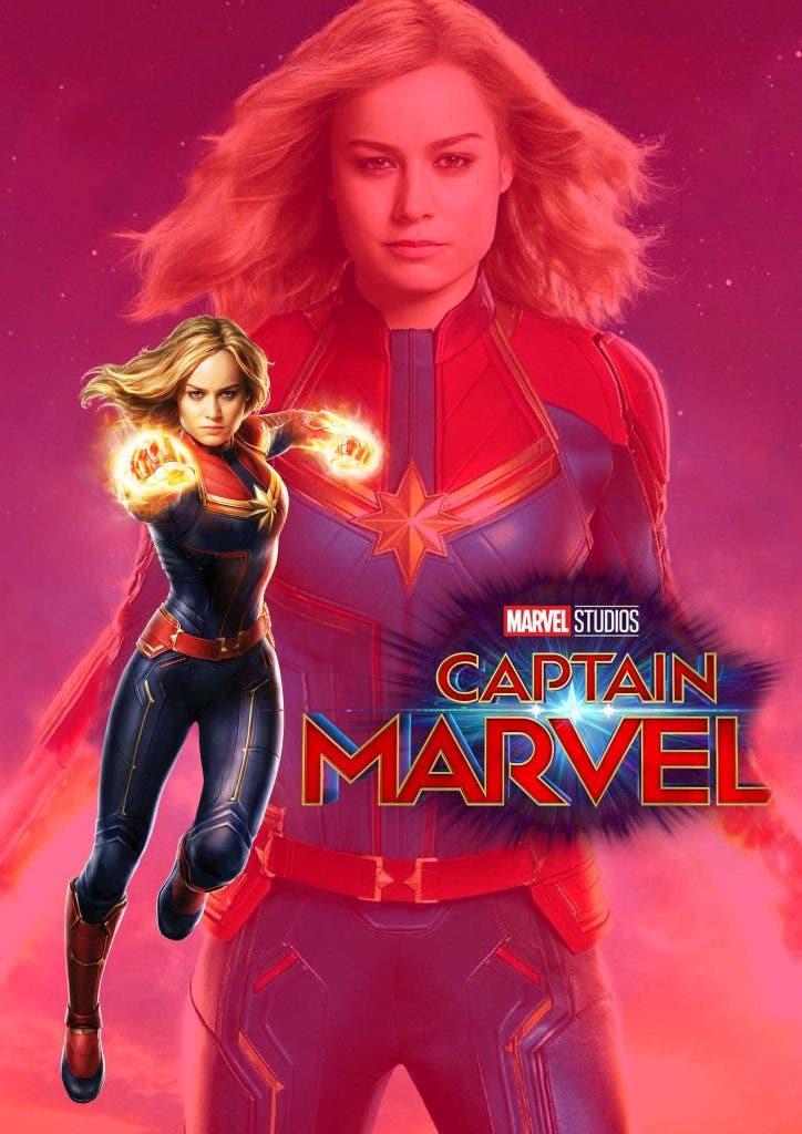 Captain Marvel dialogue delivery