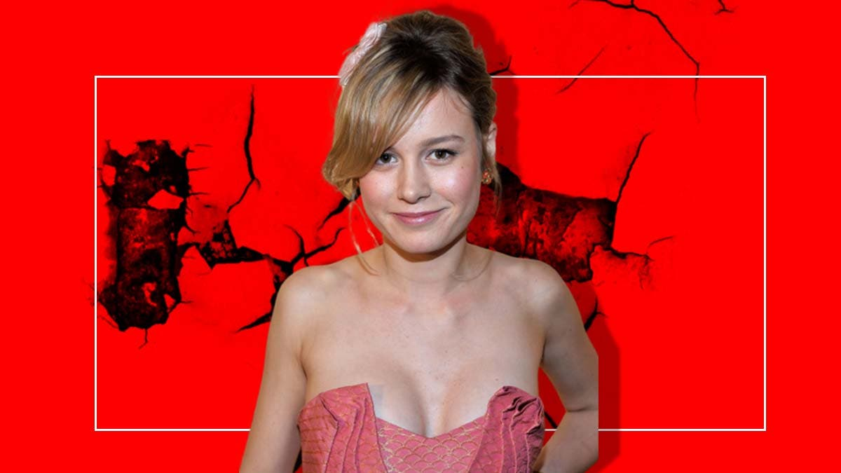 Does Brie Larson's outward confidence actually reflect her insecurity