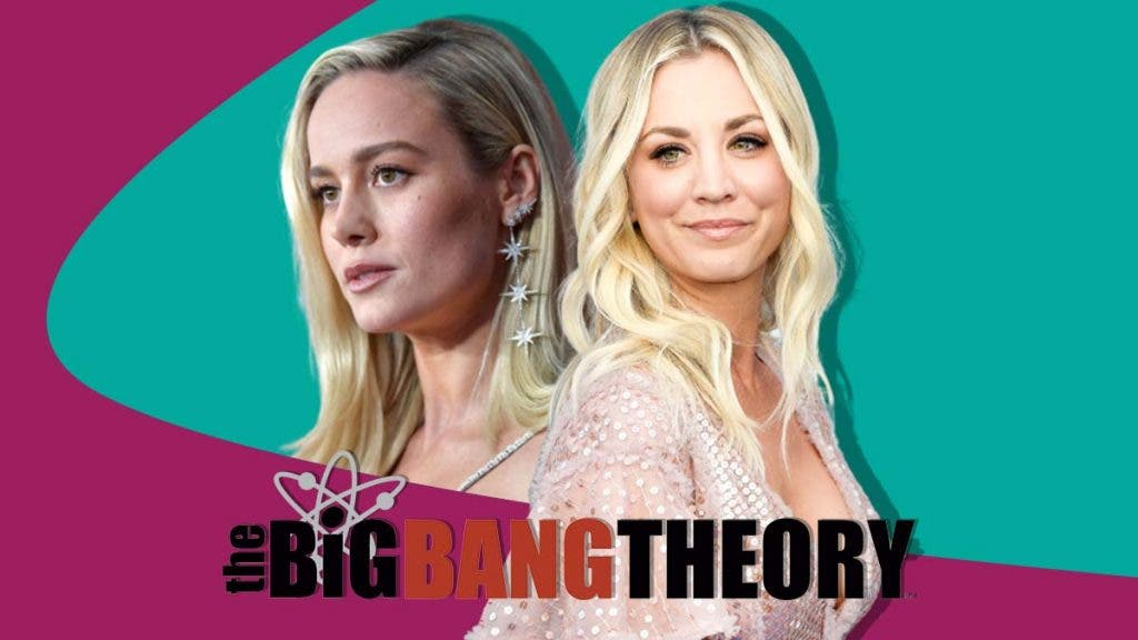 Captain Marvel Brie Larson Lost This Thing To Big Bang Theory's Kaley Cuoco
