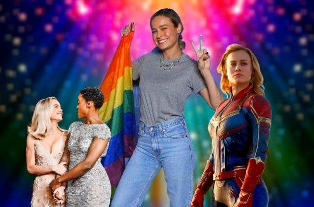 Brie ;Larson up for lesbian action in captain marvel 2