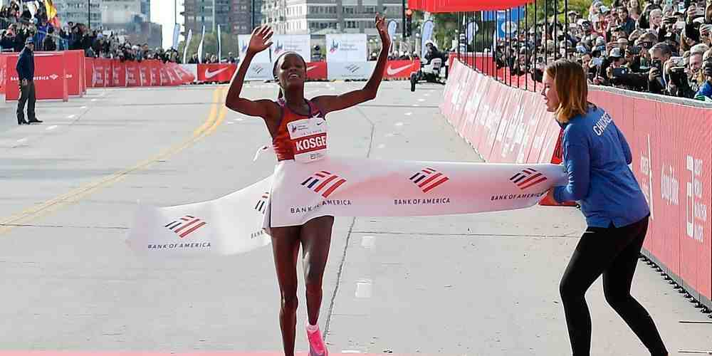 Brigid Kosgei Marathon Others Sports DKODING