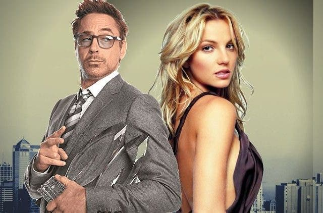 Britney Spears Robert Downey Jr DKODING