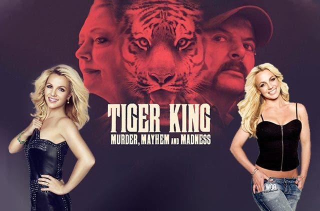 Britney Spears Tiger King Crossover DKODING