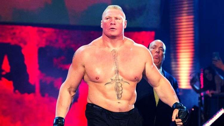 Brock Lesnar is Mr. Money in the Bank