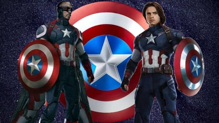 Falcon and Bucky On A Mission To Rescue Captain's Shield From The Government
