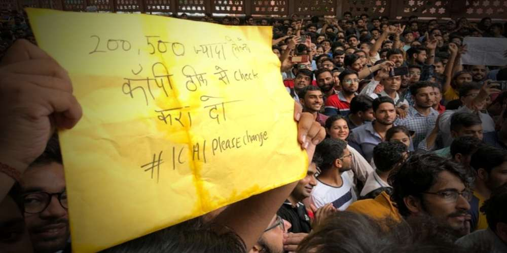 CA Students Protest DKODING