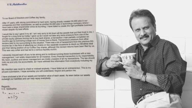 CCD-Owner-VG-Siddhartha-Missing-Letter-Trending-Today-DKODING