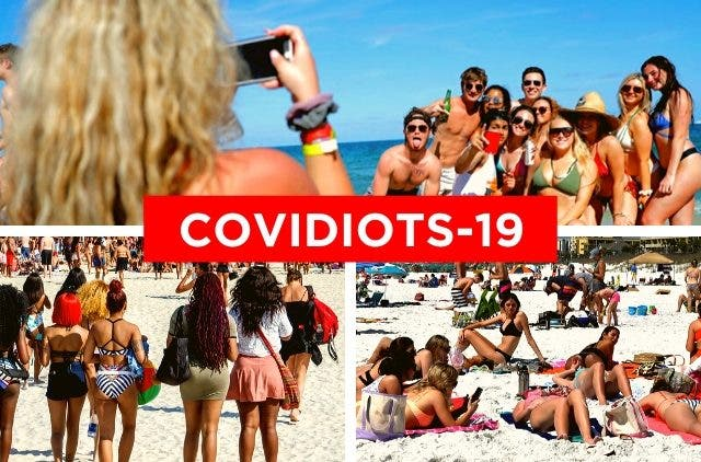 Covidiots-19 and Moronavirus of the world