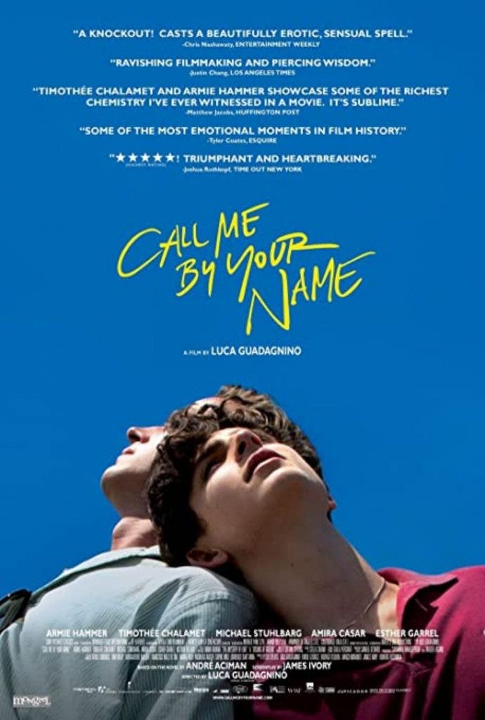 Call me by your name The Academy Awards