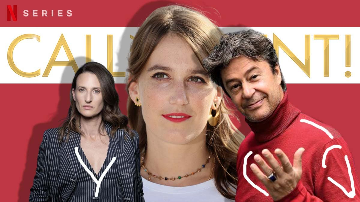 French celebrities on 'Call My Agent'