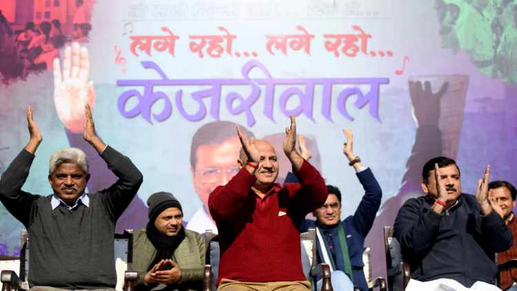Campaign-Song-Launch-AAP-Kejriwal-Features-DKODING