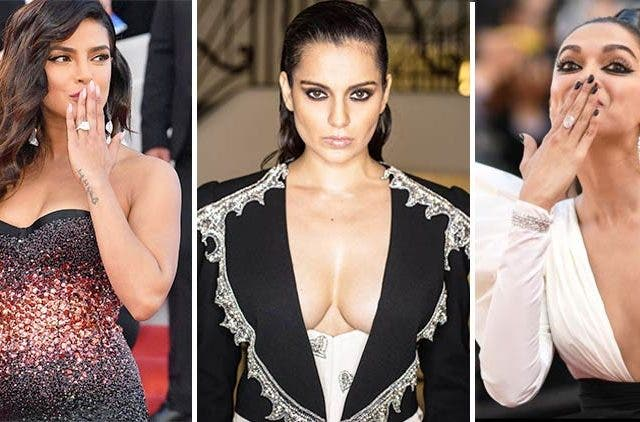 Cannes-Film-Festival-Bollywood-Celebrities-Priyanka-Chopra-Kangana-Renaut-Deepika-Padukone-Fashion-And-Beauty-Lifestyle-DKODING