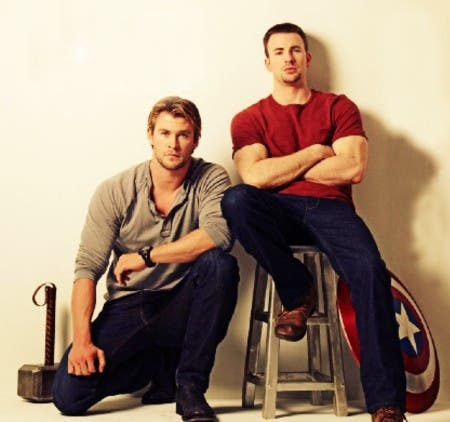 Captain America And Thor Friendship