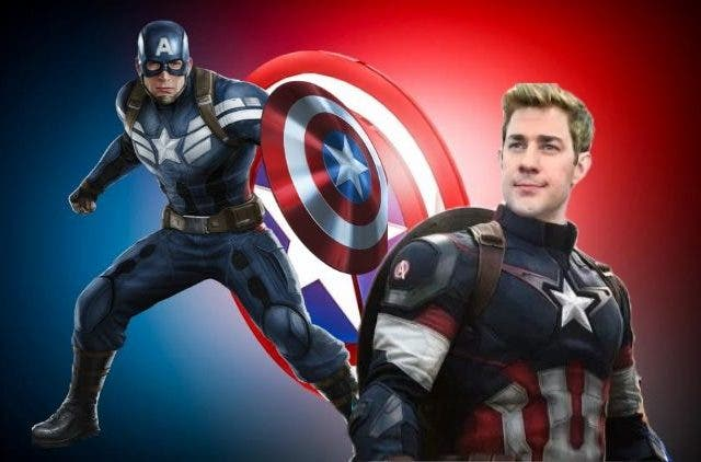 John Krasinski might play Captain America
