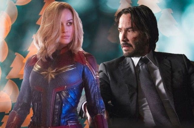 Captain Marvel And John Wick
