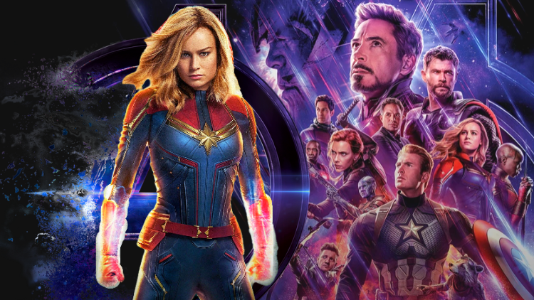 Marvel Drops Future Hint With Captain Marvel And Black Widow Hug Video