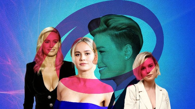 Captain Marvel S Hairstyle The Short And Long Of It