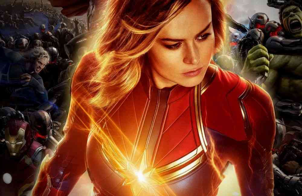 Captain Marvel Replace Brie Larson Avengers role DKODING