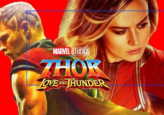 Captain Marvel To Fight Thor In Love And Thunder