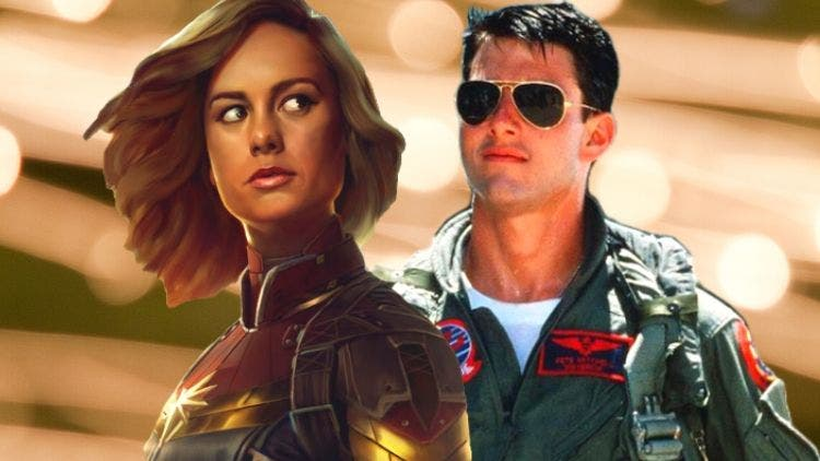 Captain Marvel's Top Gun Look: When Brie Larson Went Tom Cruise Way