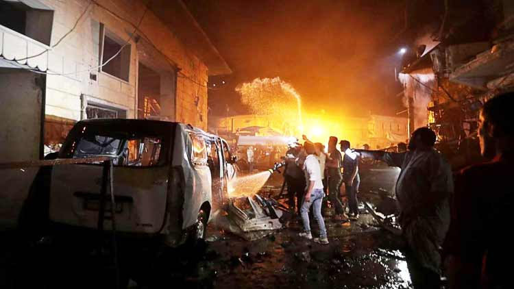 Car bomb attack claims 14 lives in Syria