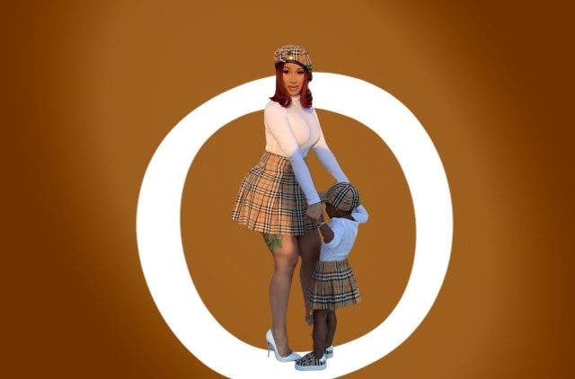 Rapper Cardi B Instagram Offset Daughter DKODING