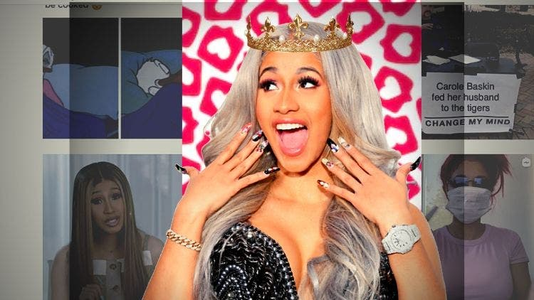 Cardi B Becomes The Undisputed Queen Of Quarantine: Tops Instagram List