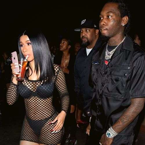 Cardi B steals the spotlight at TakeOff's Birthday Party