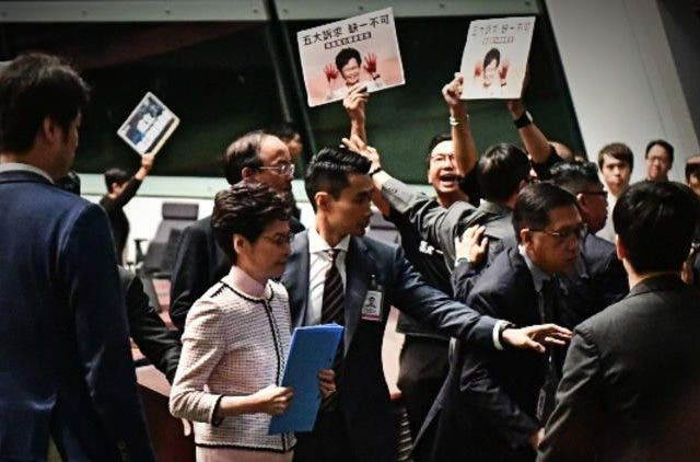 Carrie Lam Hong Kong Protest Global Politics DKODING