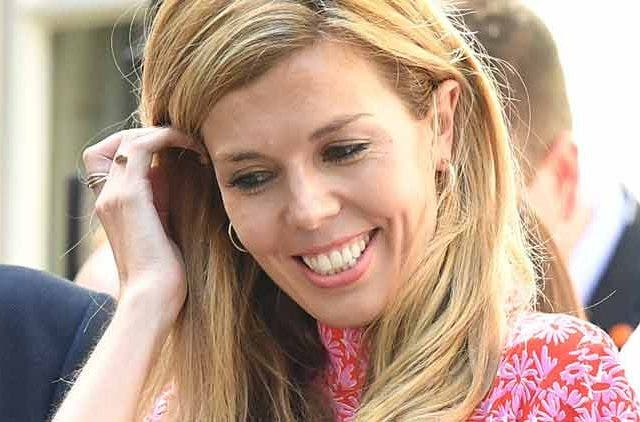 Carrie-Symonds-First-Girlfriend-Pink-Dress-Trending-Today-DKODING