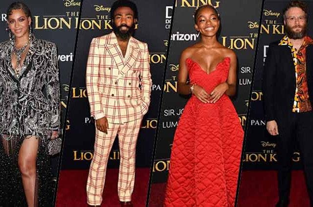 Celebrities-At-The-Lion-King-Permiere-Hollywood-Entertainment-DKODING