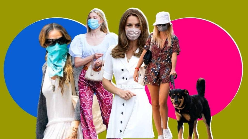 Quarantine But Make It Fashion: Celebrities In Face Masks With A Dash of Style!