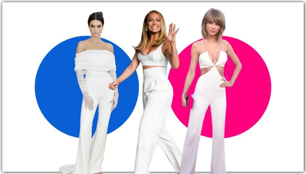 Taylor Swift To Kendall Jenner: 9 Celebrities Rocking All-White Outfit
