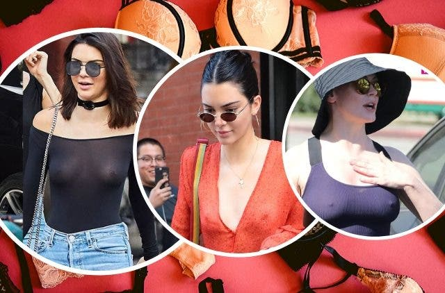 Celebs Setting Trend Free The Nipples and Stop Wearing bra