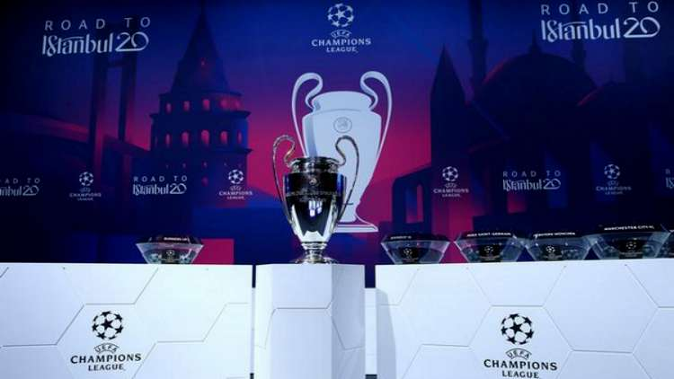 Champions League Draw: Real Madrid To Face Man City