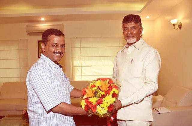Chandrababu-Naidu-Meets-Arvind-Kejriwal-In-Delhi-India-politics-DKODING
